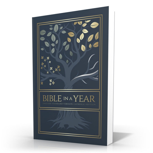 Bible in a Year || Tree of Life Paperback - English Standard Version Catholic Edition