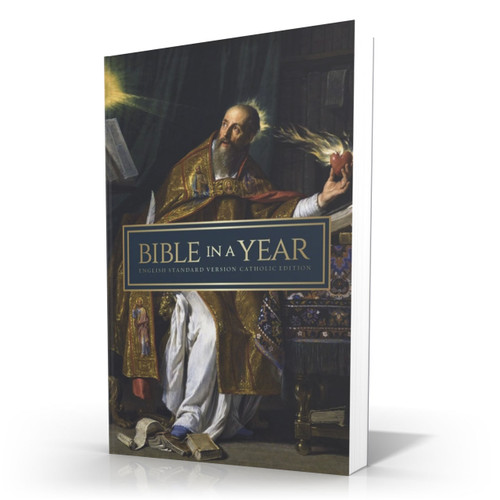 Bible in a Year || St. Augustine Paperback - English Standard Version Catholic Edition