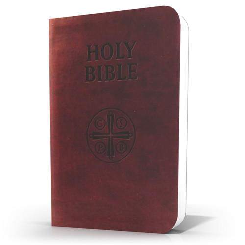 Catholic Bible || Burgundy Ultrasoft Leatherette - Douay-Rheims Translation