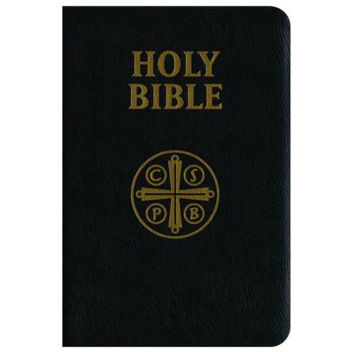 Black Leather Catholic Bible