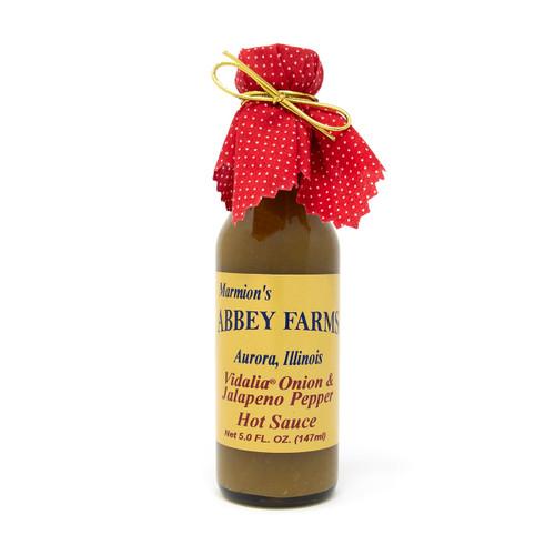 Abbey Farms - Vidalia Onion and Jalapeno Pepper Hot Sauce