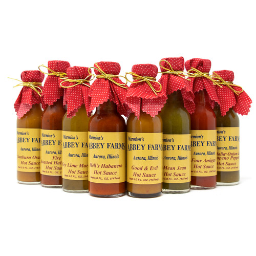 Abbey Farms - 8-Pack Assorted Hot Sauces