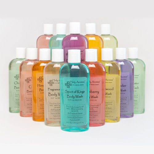 Holy Aroma® | 14-Pack Assorted Body Wash Aromas