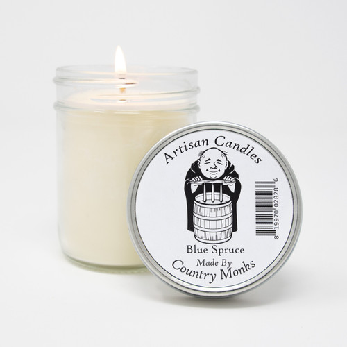 Handcrafted Artisan Candle - Blue Spruce