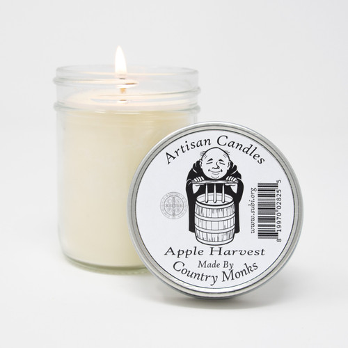 Subiaco Abbey | Handcrafted Artisan Candle - Apple Harvest