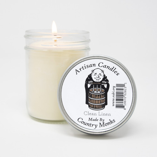 Subiaco Abbey | Handcrafted Artisan Candle - Clean Linen