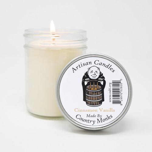 Handcrafted Artisan Candle - Cinnamon Vanilla