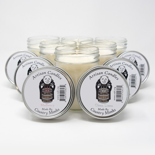 Subiaco Abbey | 6-Pack Assorted Artisan Candles - Starter Set