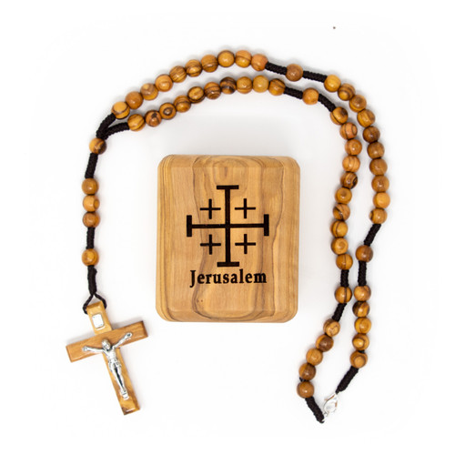 Jerusalem Box and Rosary
