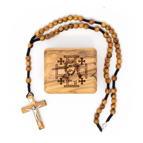 Rosary and box