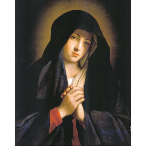 Madonna in Sorrow painting by Giovanni Battista Salvi da Sassoferrato - Canvas Print