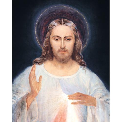 "Face of Jesus - Canvas Print - 16"" x 20"" - Divine Mercy Vilnius"