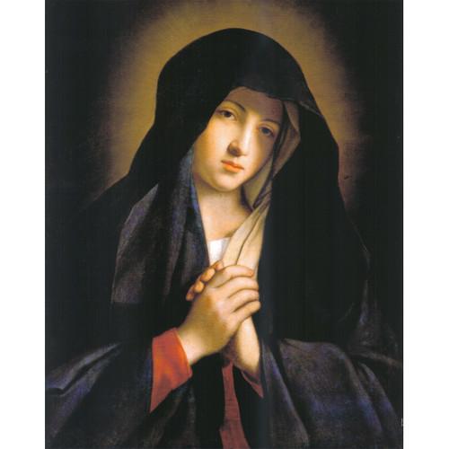 """Madonna in Sorrow painting by Giovanni Battista Salvi da Sassoferrato - Canvas Print - 16"""" x 20"""""""