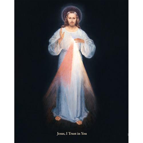 """Divine Mercy (Vilnius) - Canvas Print - 16"""" x 20"""" - Rays of Mercy"""