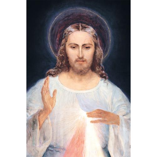 "Face of Jesus - Canvas Print - 12"" x 18"" - Divine Mercy Vilnius"