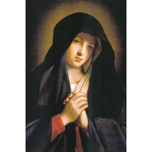 """Madonna in Sorrow painting by Giovanni Battista Salvi da Sassoferrato - Canvas Print - 12"""" x 18"""""""