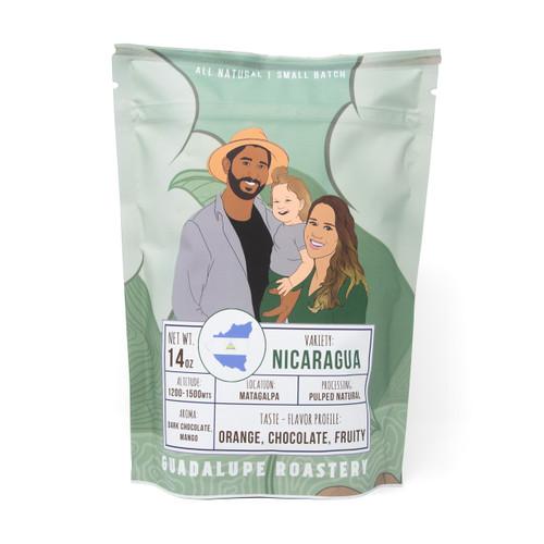 Nicaragua Medium Roast - 14 oz Ground