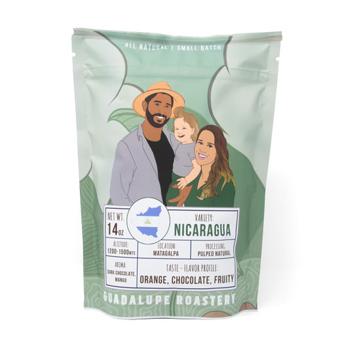 Nicaragua Medium Roast - 14 oz Whole Bean