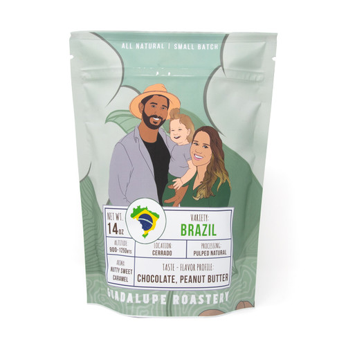 Brazil Medium Roast - 14 oz Ground