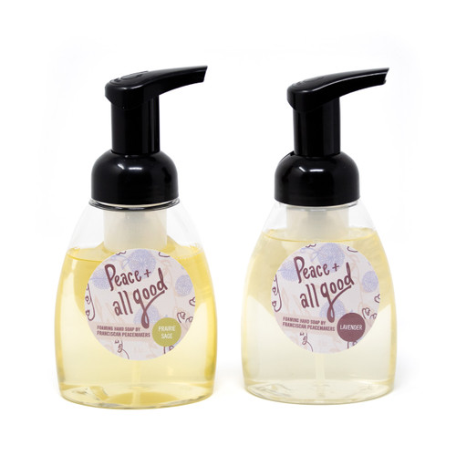 Franciscan Peacemakers   2-Pack Foaming Hand Soap - Lavender and Prairie Sage