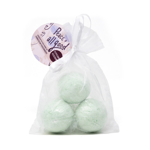 Franciscan Peacemakers | 3-Pack Bath Bomb - Peppermint Rosemary