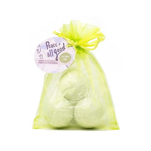Franciscan Peacemakers | 3-Pack Bath Bomb - Coconut Lime