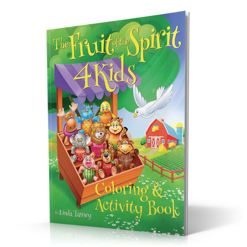 The Fruit of the Spirit 4 Kids - Coloring Book