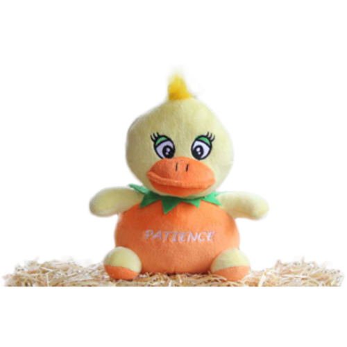 Patience the Orange Duck - Plush