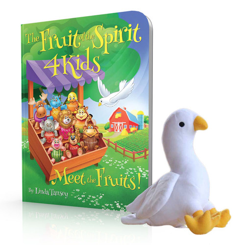The Fruit of the Spirit 4 Kids - Board Book and Spirit Dove Plush