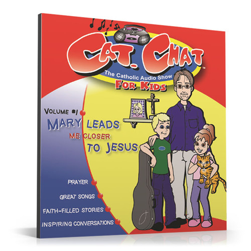 Cat Chat: Mary Leads Me Closer to Jesus