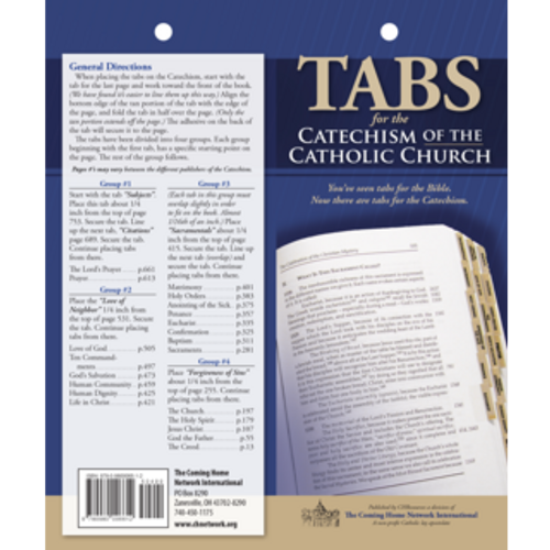Tabs for the Catechism