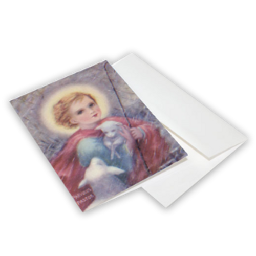 Parvulus Pastor Greeting Cards 10-Pack