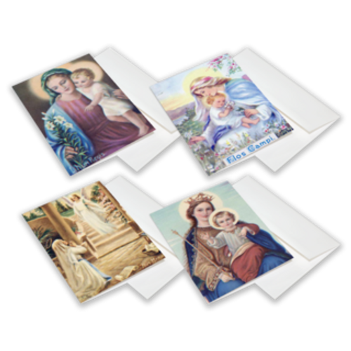 Mother Nealis Marion Series Greeting Cards 12-Pack