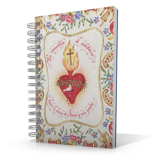 Sacred Heart - Birds 5.5 x 8.5 Journal