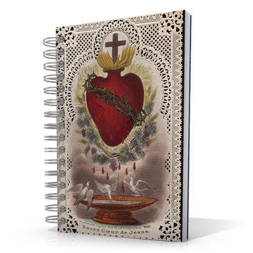 Sacred Heart of Jesus - 5.5 x 8.5 Journal