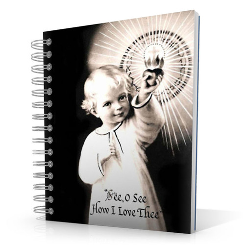 See O See How I Love Thee 5 x 4 Notebook