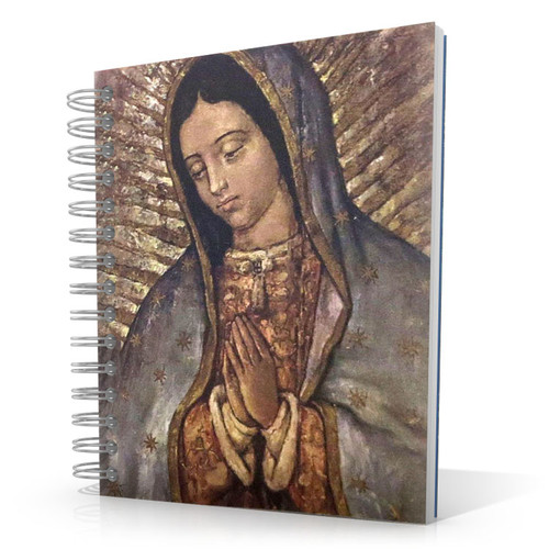 Virgin of Guadalupe - Face 5 x 4 Notebook