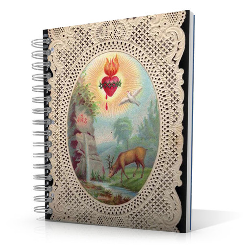 Deer Thirsting (Psalm 42) 8.5 x 11 Notebook