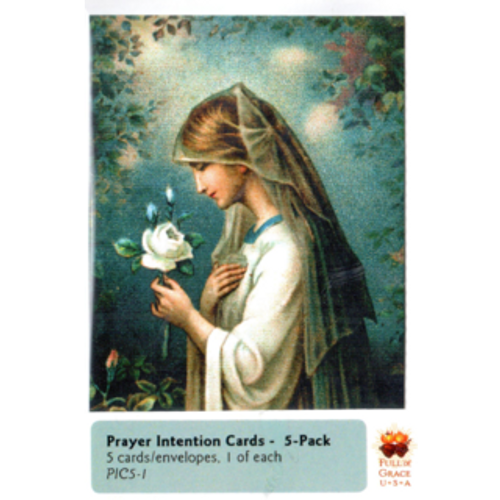 Prayer Intentions Mini-Cards 5-Pack