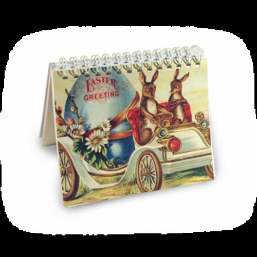 Easter Bunny Car 5 x 4 Notebook