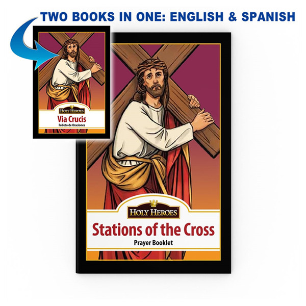 "Bi-lingual ""Stations of the Cross"" booklet"