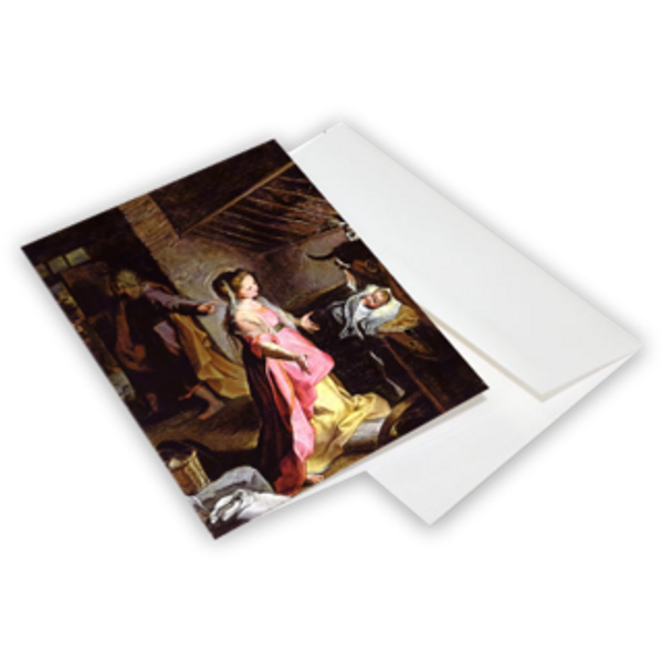 The Nativity (Barocci) - Christmas Cards 10-Pack