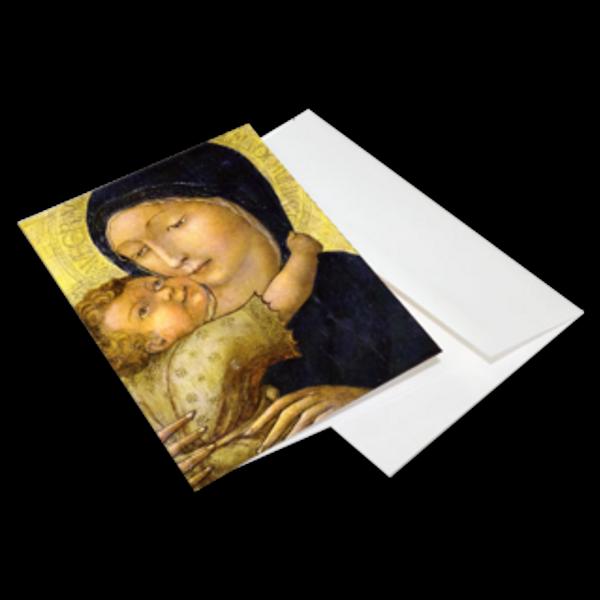 Virgin of Tenderness - Christmas Cards 10-Pack