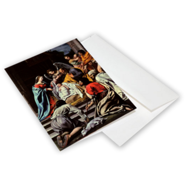The Adoration of the Shepherds - Christmas Cards 10-Pack