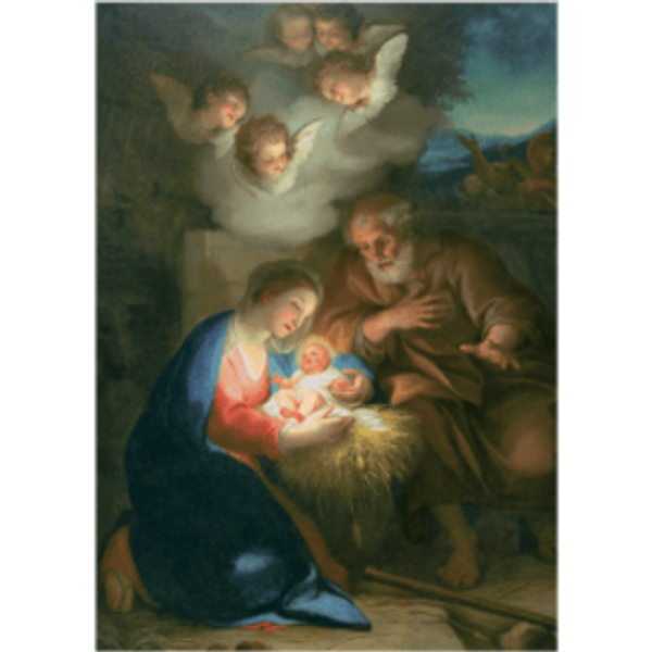 Christmas Cards - The Holy Night