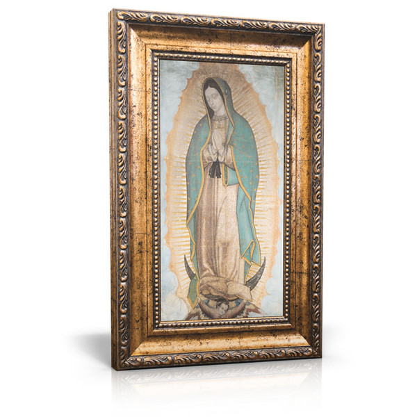 Our Lady of Guadalupe - Framed Canvas