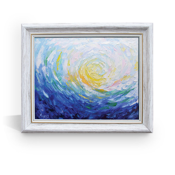 It is Well With my Soul - White Framed Canvas