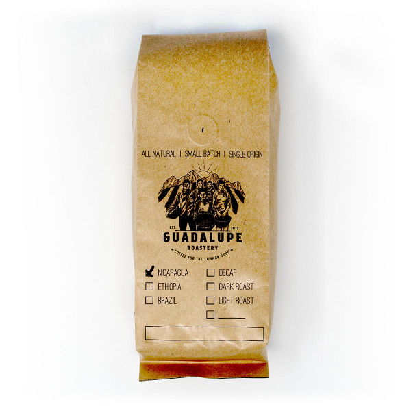 Guadalupe Roastery | Nicaraguan Blend | Medium Roast | Ground