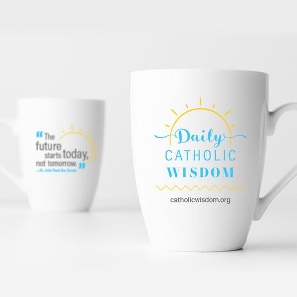 Daily Catholic Wisdom Coffee Mug