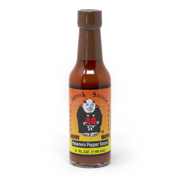Monk Sauce   Smoked Habanero Hot Sauce